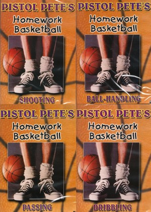 Pistol-Petes-Homework-Basketball-4-Volume-DVD-Set
