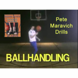 Basketball Ball Handling Drills by Pistol Pete Maravich