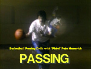 Basketball Passing Drills with Pistol Pete Maravich