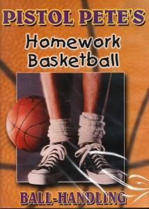 Pistol Pete's Homework Basketball Ball Handling DVD