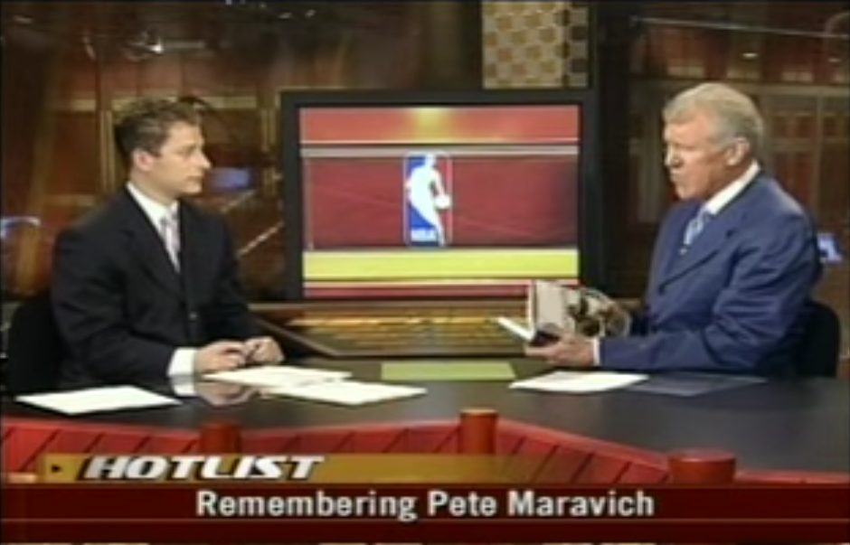 Bill Walton Remembers Pistol Pete Maravich