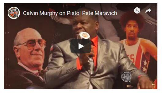 Calvin Murphy on Pistol Pete Maravich