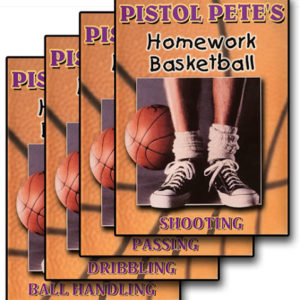 Homework Basketball 4 DVD Set by Pistol Pete Maravich