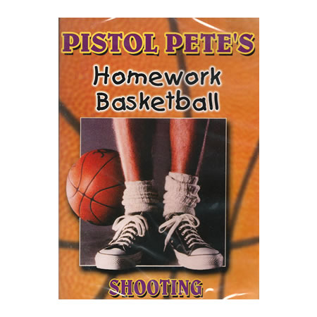 Pistol Pete's Homework Basketball Shooting DVD