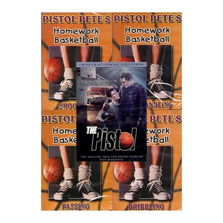 Pistol Pete 5 DVD Inspirational Pkg