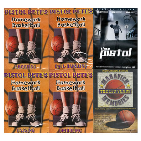 Pistol Pete DVDs - 6 Shooter Pkg Special Edition