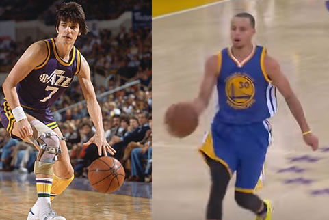 Stephen Curry Vs Pistol Pete Maravich